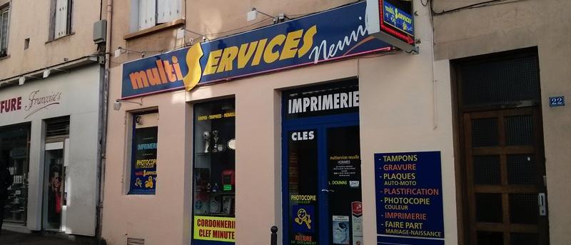 Magasin de Neuville sur Saône