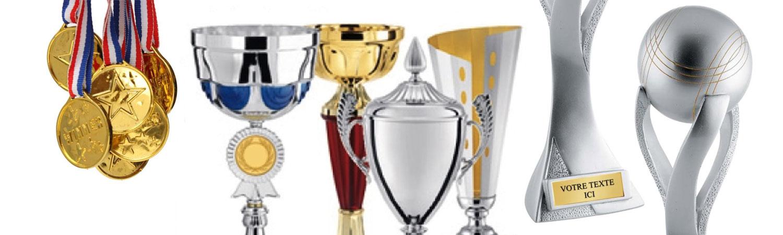 médailles coupes trophées