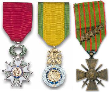 medailles de guerre